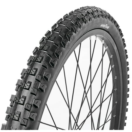 Goodyear 24 x 2.0 Folding Mountain Bike Tire, (Tubular Mountain Bike Tire)