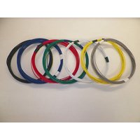 18 TXL HIGH TEMP AUTOMOTIVE POWER WIRE 7 SOLID COLORS 25 FEET EACH 175 FT TOTAL