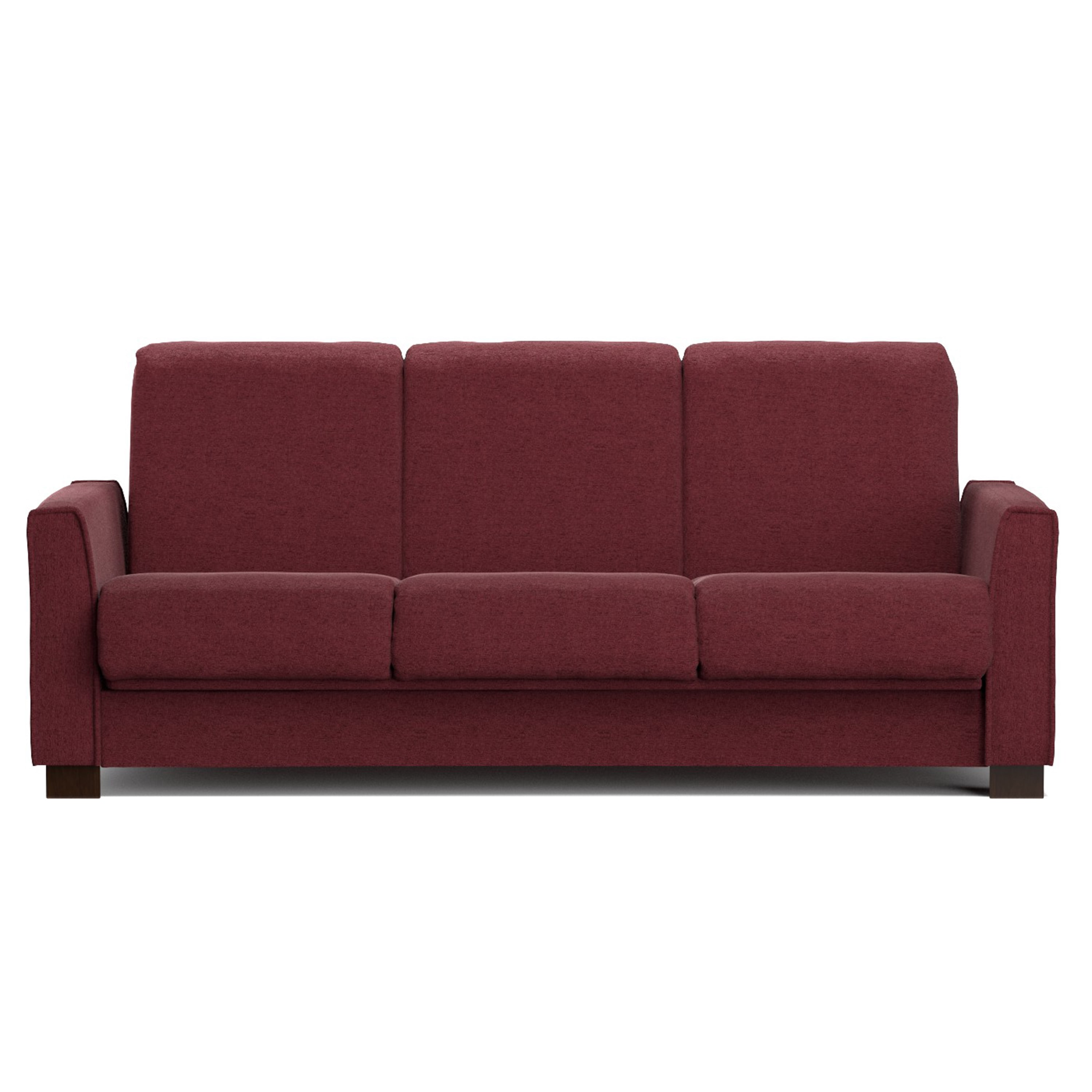 Review Handy Living Bryant Berry Red Chenille Convert a Couch Futon Sofa Sleeper Modern - Fresh handy living convert-a-couch sleeper sofa Ideas