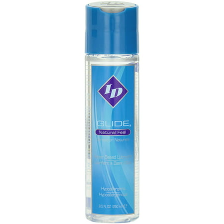 ID Glide 1 FL OZ Natural Feel Water Based Personal Lubricant Pocket Bottle, Condom and latexWalmartpatible for all of your safer sex needs By ID Lubricants Id Glide Lubricant