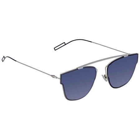 Dior Blue Aviator Men's Sunglasses DIOR0204S 0010 (Very Dior Sunglasses)