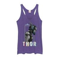 Marvel Women's Thor: Ragnarok Profile Racerback Tank Top