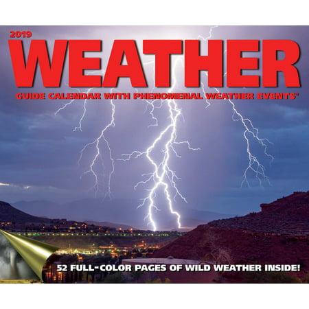 Weather Guide 2019 Wall Calendar