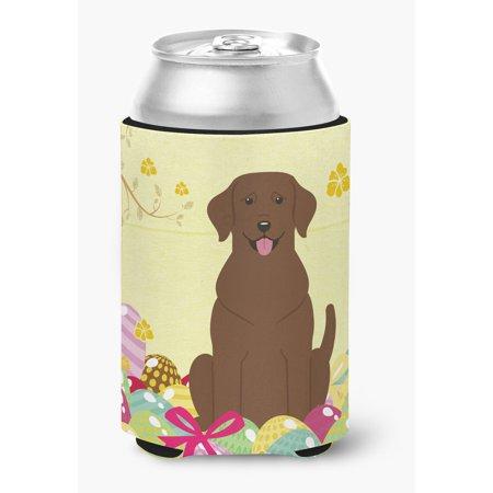 Easter Eggs Chocolate Labrador Can or Bottle Hugger BB6056CC