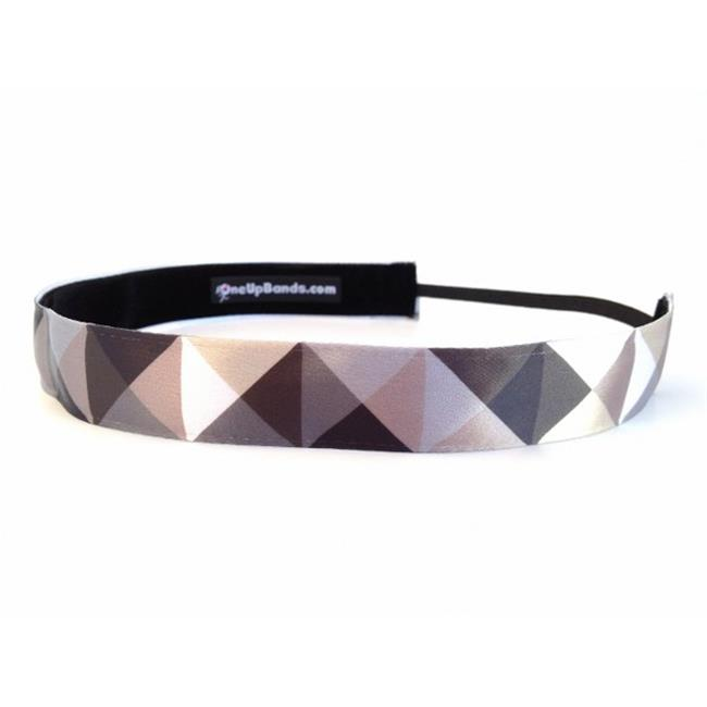 One Up Bands 1690 Natural Geometric Headband - Pack of 2