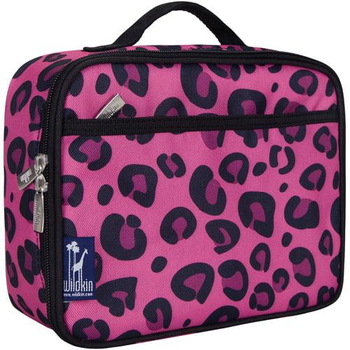 Wildkin Pink Leopard Lunch Box