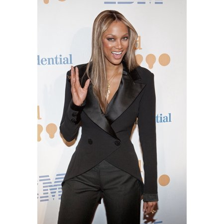 Tyra Banks At Arrivals For 20Th Annual Glaad Media Awards Marriott Marquis New York Ny March 28 2009 Photo By Jason SmithEverett Collection -