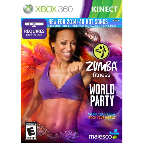 Zumba Fitness World Party Xbox 360 by Majesco Sales Inc.