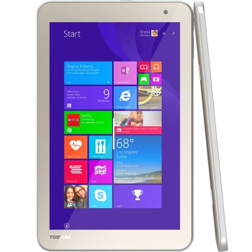 "Toshiba Encore 2 WT8-B32CN 32GB 8"" Tablet w/ Intel Atom Z3735G & 1GB RAM"