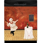 Dancing Chef Custom Dishwasher Cover