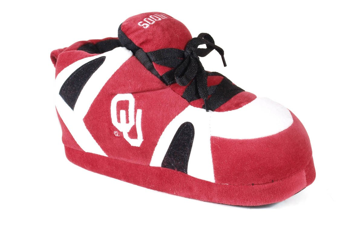 Comfy Feet NCAA Sneaker Boot Slippers Oklahoma Sooners by Happy Feet