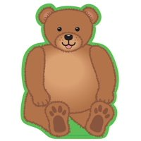 Large Notepad - Teddy Bear