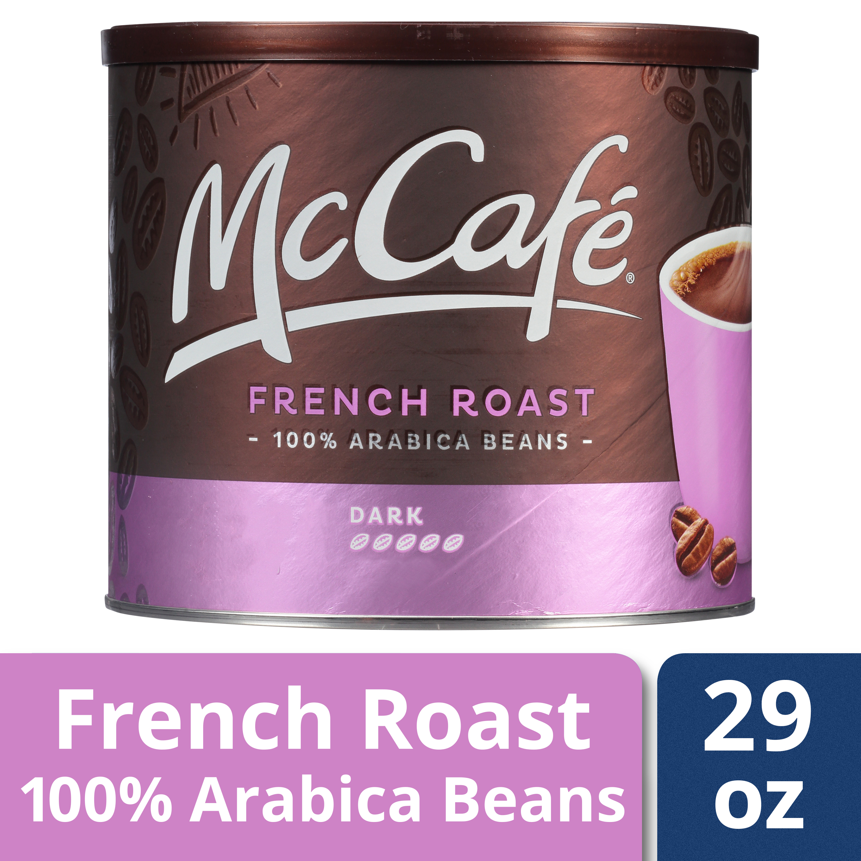 McCafé French Roast Ground Coffee 29 oz Canister