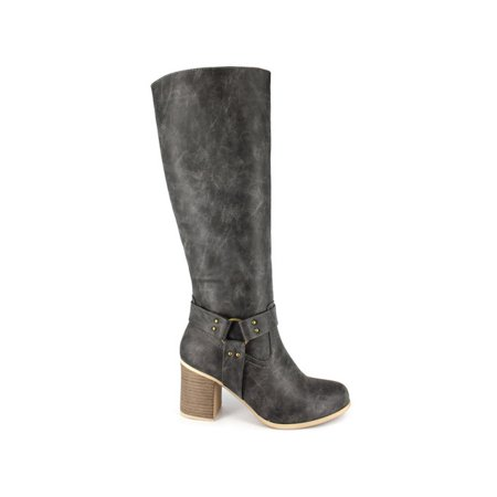 Dolce By Mojo Moxy Womens Dora Almond Toe Knee High Fashion Boots - Boot Dora
