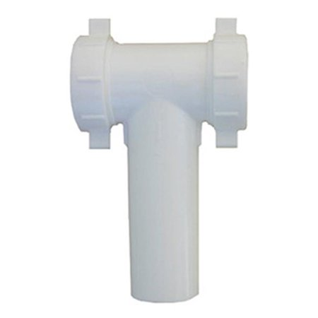 (03-4291 1.5 x 1.5 in. White PVC Lavatory Kitchen Drain Tee)