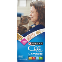 Purina Cat Chow Dry Cat Food, Complete, 6.3 lb. Bag