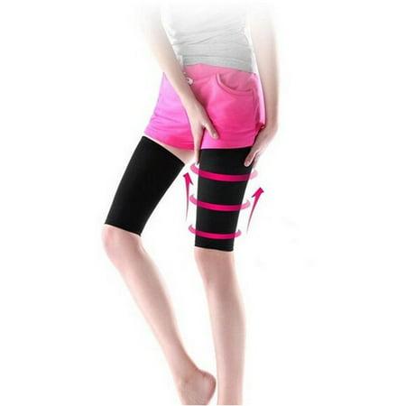 EECOO Massager Compression Thigh Leg Shaper Wrap Belt Thigh Slimming Compression Socks,Women Beauty Slim Weight Loss Fat Burn Thigh leg Massage Shaper Elastic Slimming Leg Socks