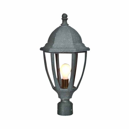 Post Lamp Jade Mineral Outdoor Light 16 H X 10 5 W