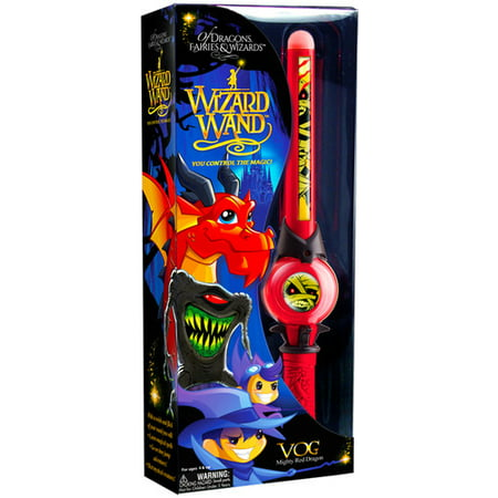 Mighty Wizard Wand: Of Dragons, Fairies, and Wizards Vog Hand Held