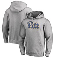 Pitt Panthers Fanatics Branded Classic Primary Pullover Hoodie - Heathered Gray