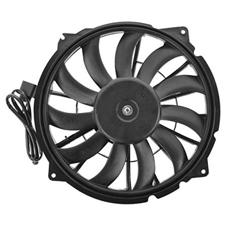 Engine Cooling Fan Assembly - Cooling Direct For/Fit AU3117102 02-08 Audi A4/S4 04-06 A4/S4 Cabriolet 4.2L (Left