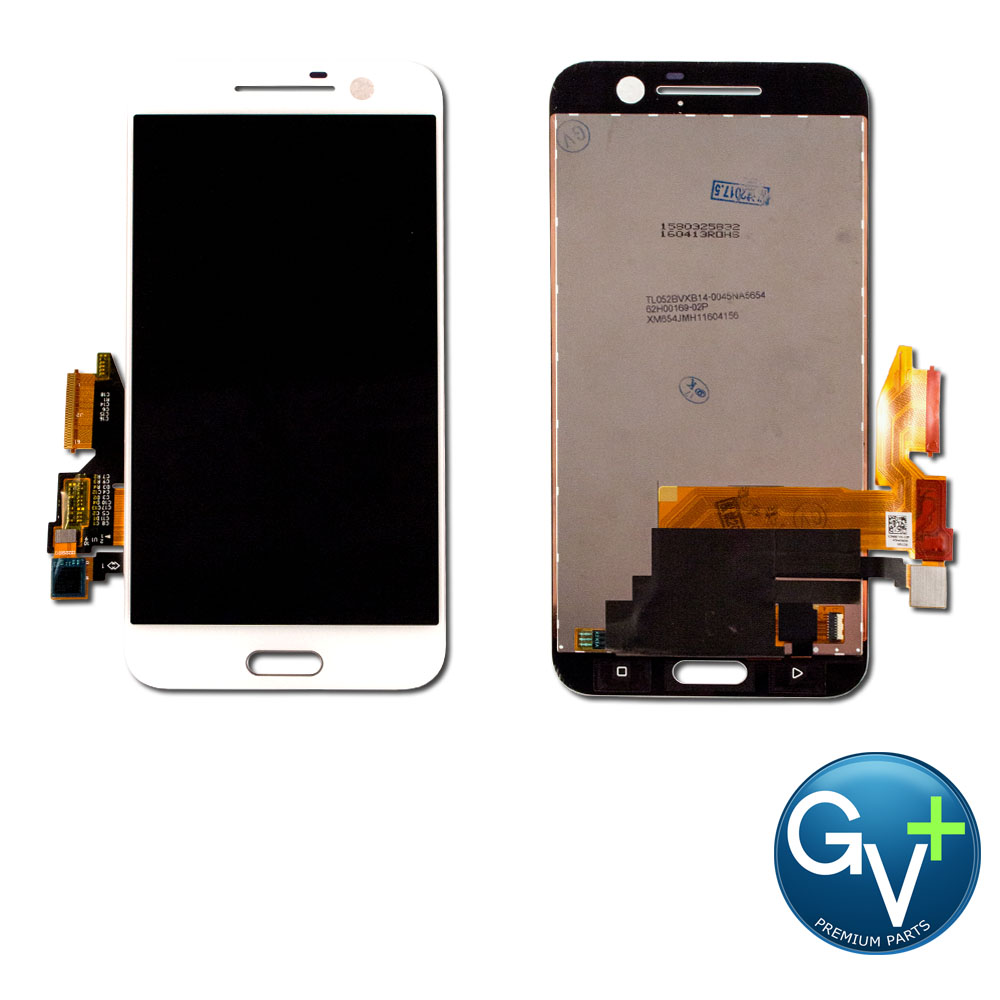 OEM Touch Screen Digitizer and LCD for HTC 10 - White (2PS6400, 2PS6500)