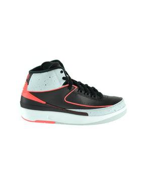 2e27c304026 Product Image Jordan 2 Retro Big Kids Basketball Shoes Black Infrared Pure  Platinum White 395718