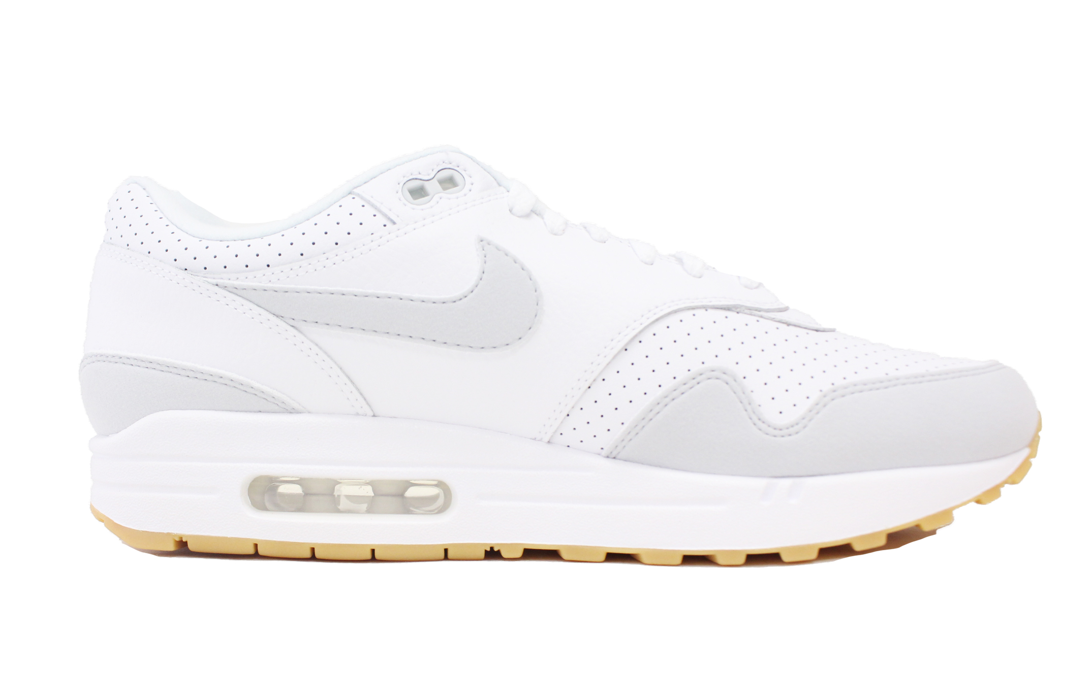 new product 3bb28 47367 Nike - NIKE AIR MAX 1 WHITE PURE PLATINUM GUM YELLOW AM1 AH8145 103 ...