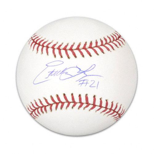 MLB - Esteban Loaiza Autographed Baseball