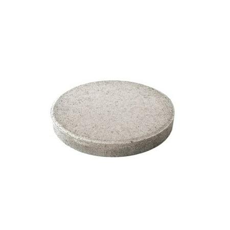 Pro-pak Rnd Stepping Stone Gray