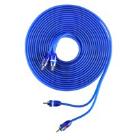 Skar Audio 17-Foot 2-Channel Twisted Pair RCA Interconnect Cable - SKAR2CH-RCA17