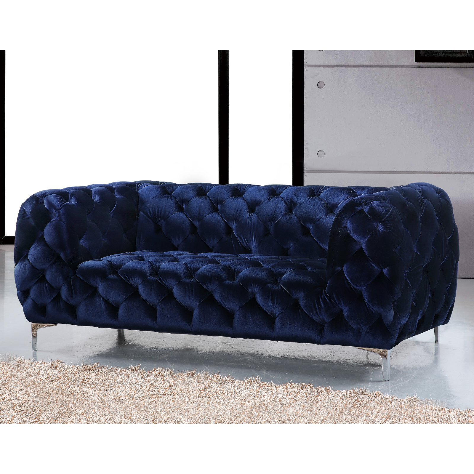 Meridian Furniture Inc Mercer Loveseat