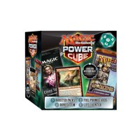 Magic the Gathering TCG: MTG MYSTERY CUBE- 2 Foil Promo Cards | 3 Booster Packs | 1 Life counter |1 bonus item
