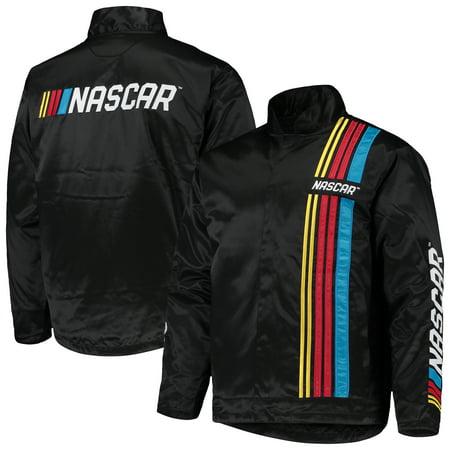NASCAR Full-Zip Pit Jacket - Black Jeff Gordon Nascar Jacket