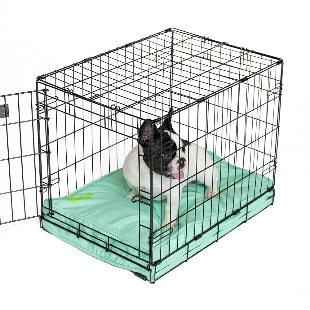 Regency eLuxurySupply - Aqua Orthopedic Dog Crate Memory Foam Pad for Small, Medium & Large Dogs