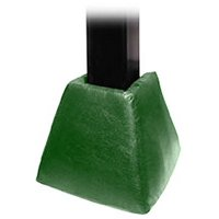 First Team FT77 Foam-Vinyl Gusset Pad for 6 in. Crank Adjust Base Only, Kelly Green