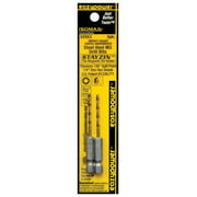 Eazypower 32553 Impact Drill Bit, Hex Shank, 1/4 in Dia Shank
