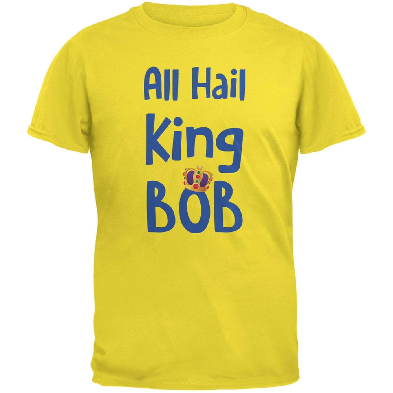 All Hail King BOB Yellow Adult T-Shirt