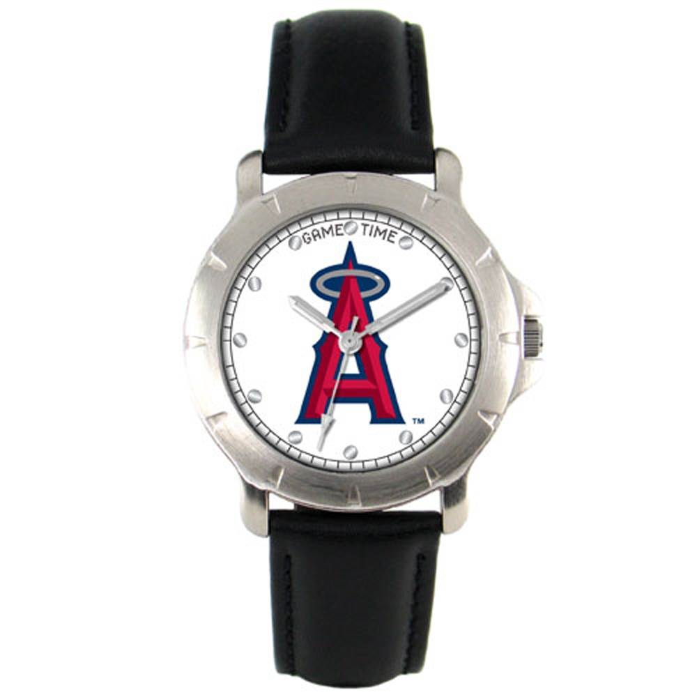Los Angeles Angels Leather Band Players Watch