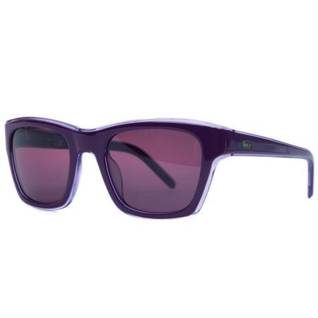 Lacoste L645S 538 Lilac Rectangle Sunglasses