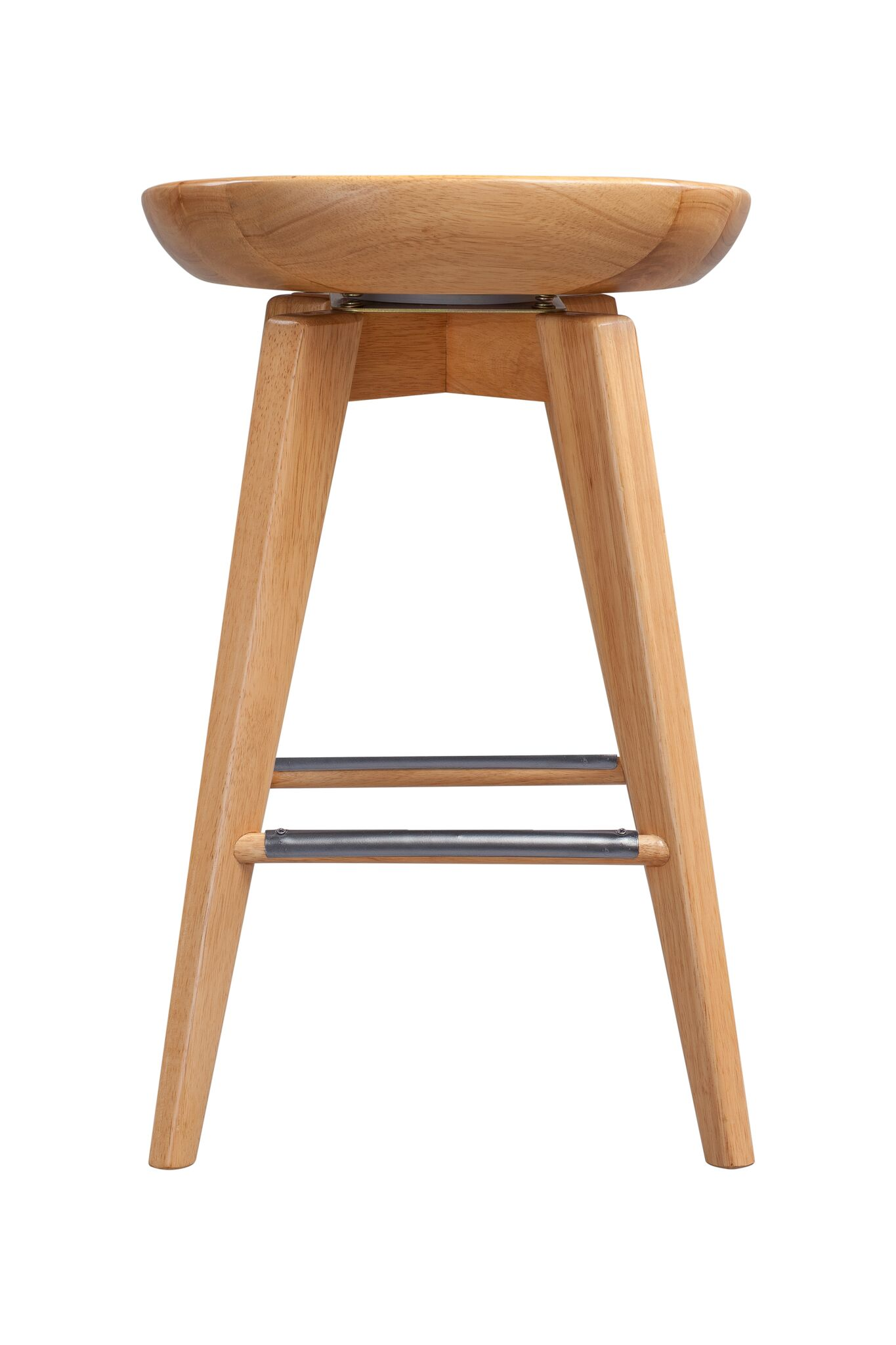 Miraculous Boraam Bali 24 Wood Swivel Counter Stool Multiple Finishes Squirreltailoven Fun Painted Chair Ideas Images Squirreltailovenorg