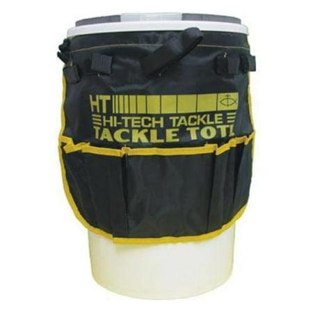 - Hi - Tech Fishing Iceman Bucket Tackle Tote Black