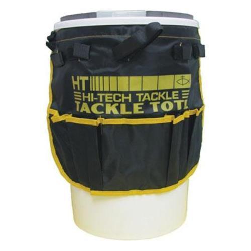 Hi - Tech Fishing Iceman Bucket Tackle Tote Black