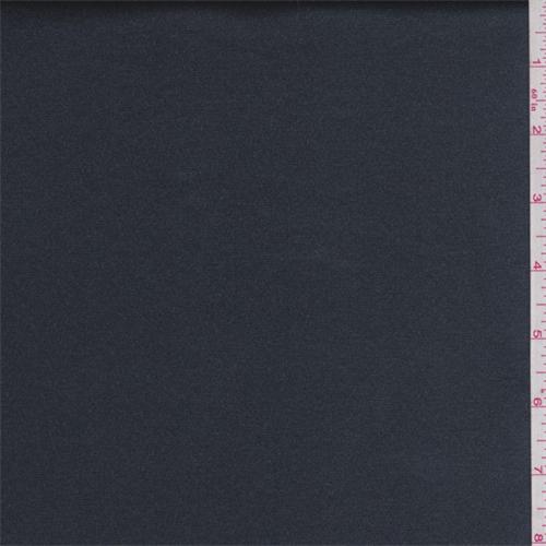 Slate Blue Grey Satin, Fabric By the Yard