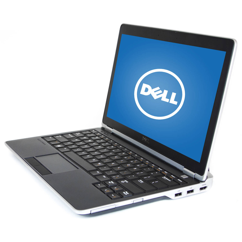 "Refurbished Dell Black 12.5"" E6230 Laptop PC with Intel Core i5-3320M Processor, 6GB Memory, 128GB SSD and Windows 7 Professional"