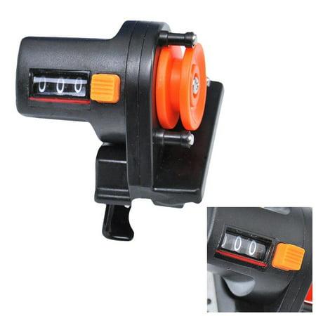 Fishing Line Depth Finder Counter Fishing Tool Tackle Digital Display Length Gauge Counter Accurate Manual Meter
