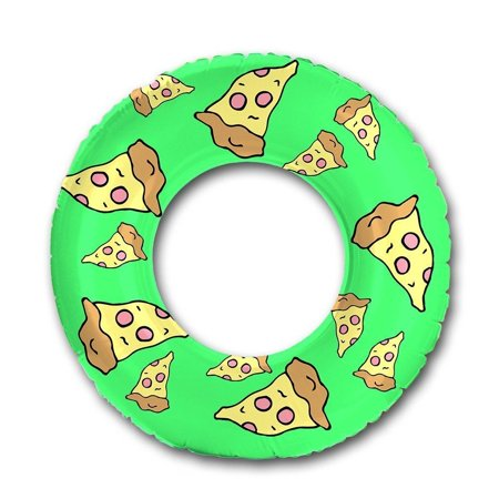 Flonuts Pizza Inflatable 48 Donut Tube Pool Float