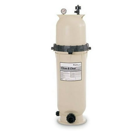PENTAIR 160316 CC100 Clean and Clear Above Ground Swimming Pool Filter 100  Sq Ft