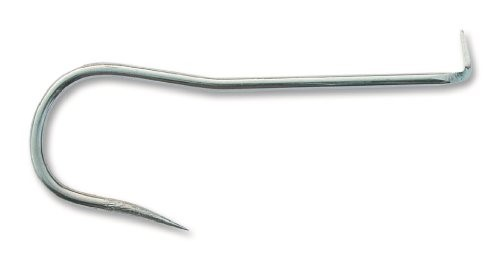 Mustad 2286TD Classic Gaff Barbless Duratin Hook with Tapered Spike 10-Pack S...