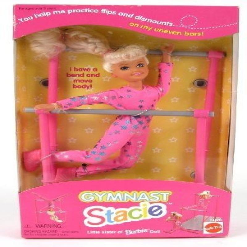 Mattel Gymnast Stacie Little Sister of Barbie Doll by